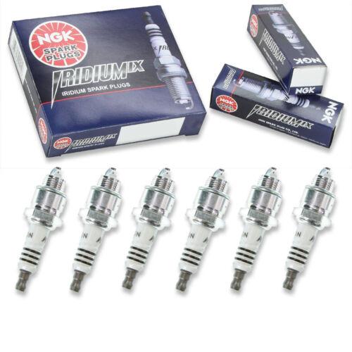 6 pcs NGK Iridium IX Spark Plugs for 1950-1962 Chevrolet Bel Air 3.9L 3.8L zl