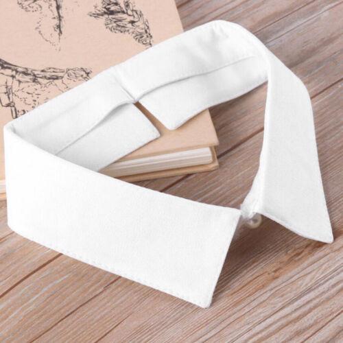 Frauen gefälschter Kragen Dickey Kragen Bluse halbes Hemd Dekorativer falscher