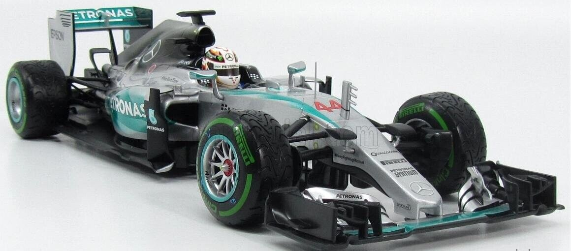 Mercedes W06 GP USA nº 44 44 44 Lewis Hamilton 2015 Minichamps 1 18 WORLD CHAMPION   37f