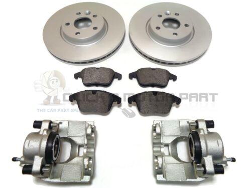 Ford S-Max 2006-2014 la mayoría de los modelos frontal izquierdo y derecho de Pinza De Freno /& Discos Almohadillas