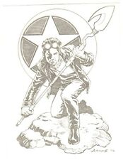 Starman Tight Pencil Commission - 2006 Signed art by Darryl Banks
