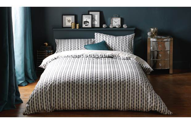 Heart of House Discovery Jacquard Bedding Set - Superking 100% Percale 180 count