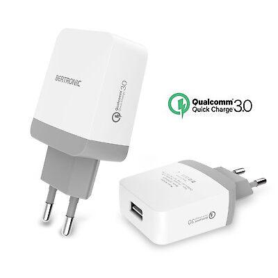 Methodisch Bertronic Usb Schnell-ladegerät Bc940qe - Quick-charge 3.0 - Reiseadapter - Eu