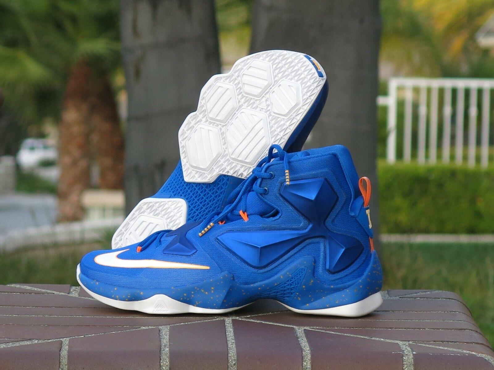 Nike Lebron James XIII Men's Basketball Sneakers 807219-418