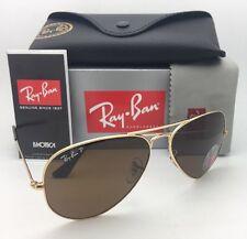 9c08ebcbe3 item 3 Polarized RAY-BAN Sunglasses LARGE METAL RB 3025 001 57 62-14 140 Gold  w  Brown -Polarized RAY-BAN Sunglasses LARGE METAL RB 3025 001 57 62-14 140  ...
