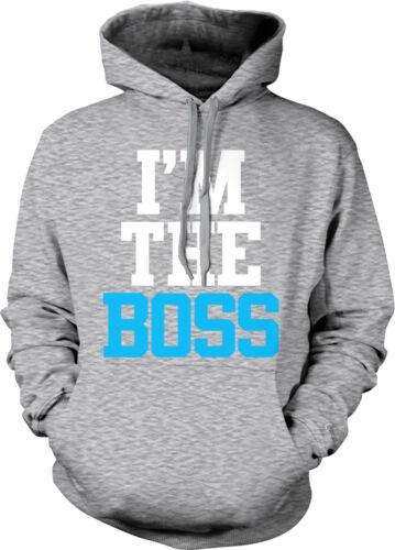 Im The Boss Swag Hype Baller Pimpin Top Dog #1 Chief Hoodie Pullover
