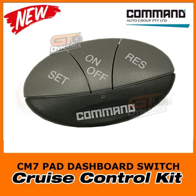 Command CM7 Cruise CONTROL PAD DASH MOUNT SWITCH Suits AP300 AP307 AP500 AP900