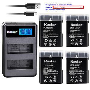 Kastar-Battery-LCD2-Charger-for-Nikon-D5100-D5200-D5300-D3100-D3200-D3300-P7000