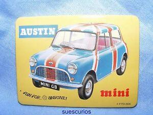 Austin-Mini-Car-Vehicle-Garage-Advertising-Magnet-NEW