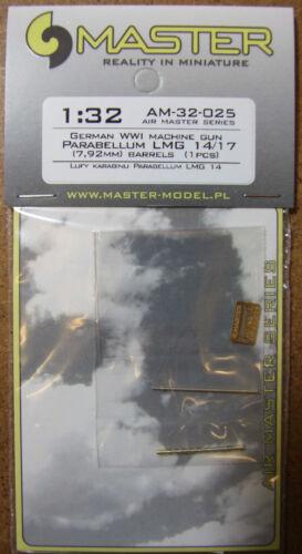 LMG14//17 Gun Barrel WWI Master 1//32 ca Nouveau *** Envoi gratuit avec Kit *