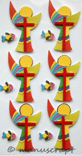 Konfirmation Kommunion Artoz Artwork 3D-Sticker Kelch bunt