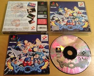 PARODIUS-for-SONY-PS1-PS2-amp-PS3-VERY-RARE-amp-COMPLETE-by-Konami