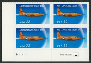 #3173 33c 1st Supersonic Vuelo, Plt Negro [B1111 Ll ], Nuevo Cualquier 5=