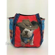 Borsa Teo Jasmin Cowboy (29x43x21cm) 619TEOCOWBOY Hibiscus Tote Bag Red Tartan P