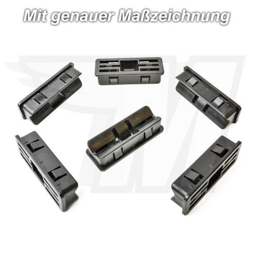 5x Zierleisten Verkleidungs Befestigungs Clips Halterung für JaguarC2Z11575