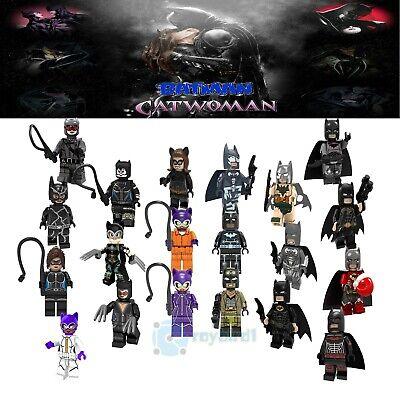 20PCS Rare Gotham Villain Batman Nobody Foe Mini Figure Building Blocks DIY Toys