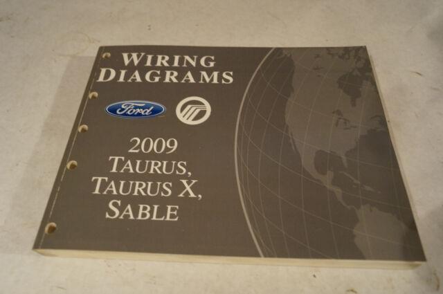 Diagram  2009 Ford Taurus Taurus X Sable Wiring Diagrams