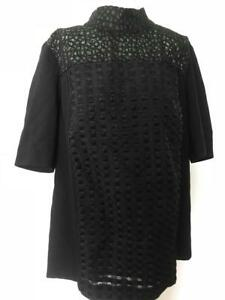 Marina Rinaldi by MaxMara Group Fatalita Short sleeve Top I42 F40 UK10 US6