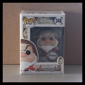 Pop-Disney-348-Grumpy-FUNKO-EXCLUSIVE-Snow-white-Blanche-neige