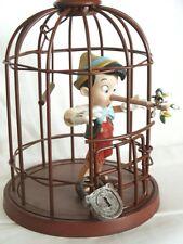 "Walt Disney Collector's Society Sculpture Pinocchio ""I'll Never Lie Again"""