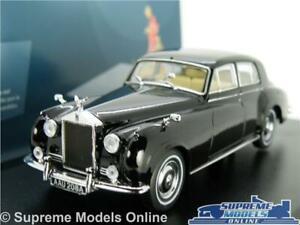 Rolls-Royce-Silver-Cloud-I-Modelo-de-Coche-1-43-escala-Oxford-Diecast-43RSC002-K8-Negro