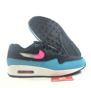 Details about New Nike Air Max 1 BlackLaser I2450001 FuchsiaBlue FuryWhite City Brights c1