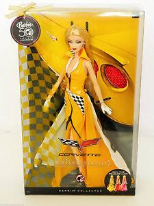2009 CORVETTE (Yellow) AMERICAN FAVORITES 50th Barbie Pink Label_N4984_NRFB