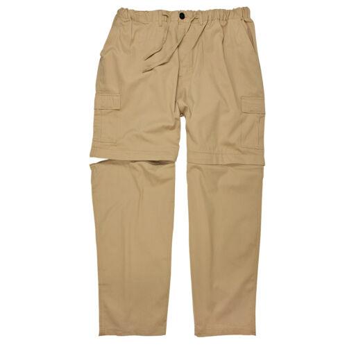 Zipp-off-pantalones outdoor con cordón de ajuste para caballeros by Abraxas en pijama hasta 12xl