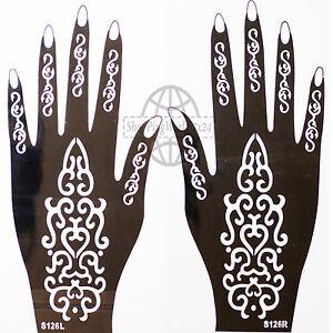 Henna-FORMINA-modello-aerografo-tatuaggio-illimitato-SINISTRA-E-DX-mano-S126