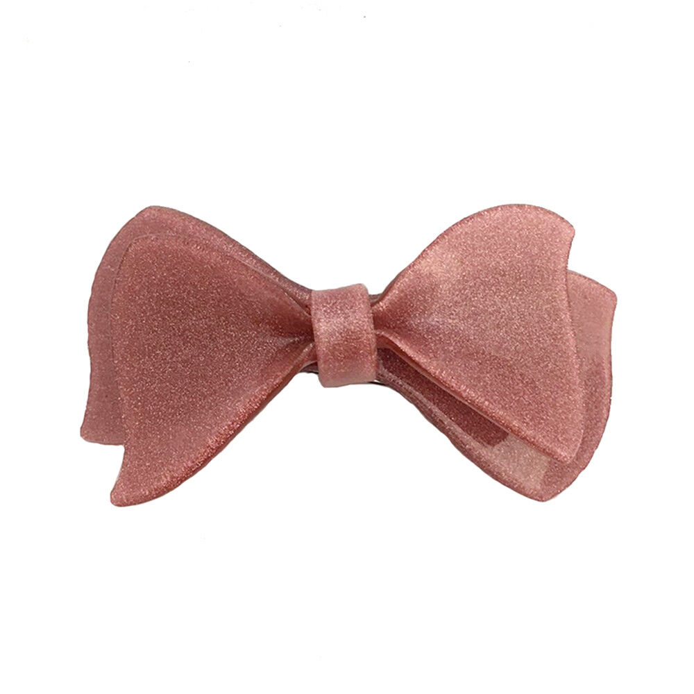 Hair Accessory - Bow Tie French Barrette Hair Clip (STS08907)