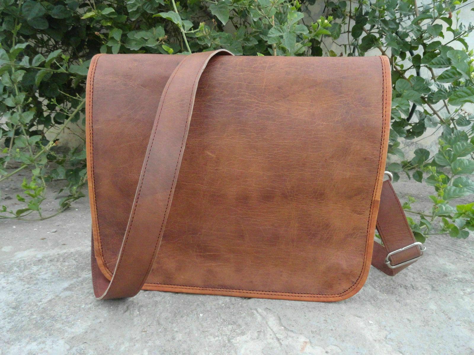 Best Trade Vintage Vintage Vintage Leder Messenger Echtes Satchel Bag Genuine Laptop Aktentasche      Authentische Garantie  b894c7