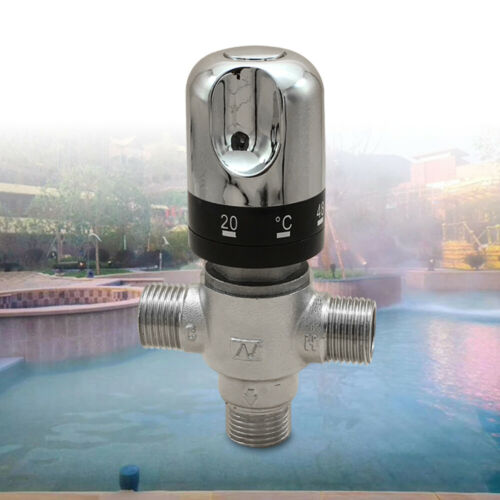 3 Wege Ventil Thermostatischer Warm Wasser Mischventil Brauchwassermisch
