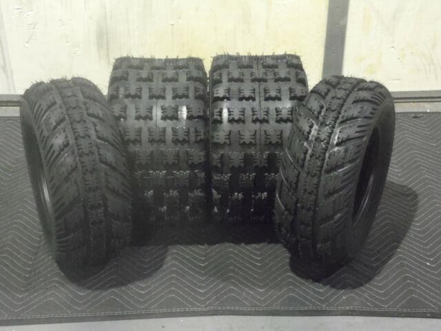 2 TIRE SET YAMAHA YFZ 350 BANSHEE AMBUSH SPORT ATV TIRES 20X10-9 REAR 4PR