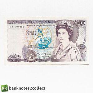 ENGLAND: 1 x 20 English Pound Banknote. Somerset.