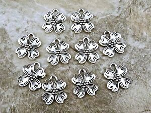 10-Pewter-Dogwood-Flower-Charms-0826
