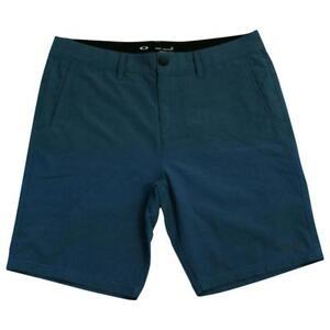 Oakley-Oberon-Shorts-Mens-Size-34-Blue-Shade-Short-Casual-Boardies-Boardshorts