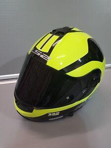 LS2-Strobe-Flip-front-Motorbike-Motorcycle-Hi-viz-Yellow-and-black