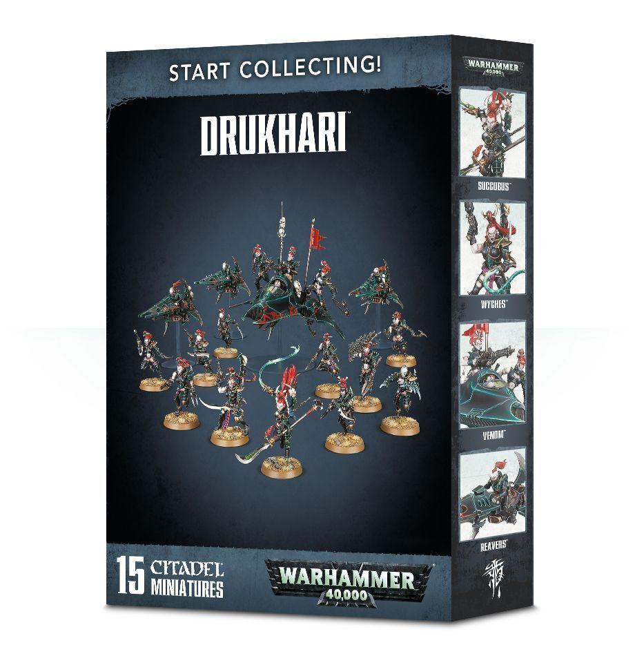 Warhammer 40k - sammeln drukhari - brand new in box - 70-45