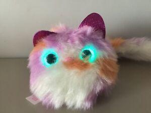 UFFICIALE pomsies Pom-Pom interattive Cat Pet Light Up Occhi & Suoni
