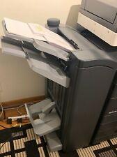 Used Konica Minolta Bizhub C554e Color Copier Printer With Finisher Extra Toner