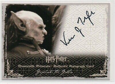 Harry Potter-Timothy Bateman-Kreacher-OOTP-Authentic-Signature-Autograph Card