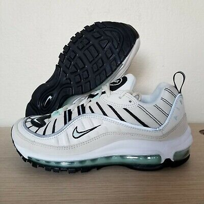 wholesale dealer f8395 e2133 Nike Air Max 98 Sail Igloo Fossil Beige Running Shoes Womens Size 7  (AH6799-105) | eBay