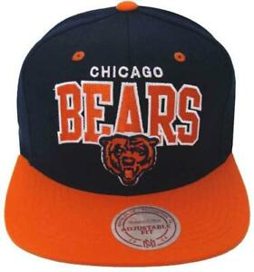 c4de203fc97 Image is loading Chicago-Bears-Mitchell-amp-Ness-Snapback-Cap-Hat-