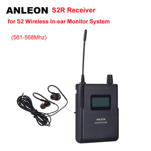 Original For ANLEON S2 Earphone Personal Wireless In-ear System Stage 561-568MHz