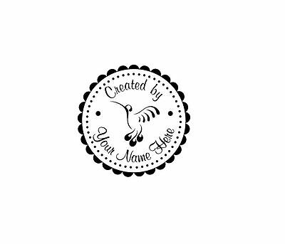 Personalized Custom Handle Mounted Rubber Stamp Returned Address Wedding C114
