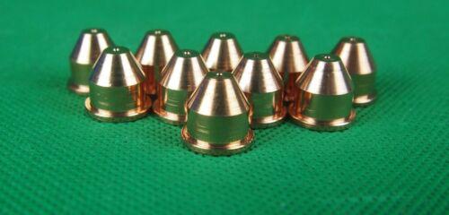 LT50//CB-50 Taper Plasma Cutter Nozzles Cutting Nozzle Tips PD0019-10 Tips 10Pcs