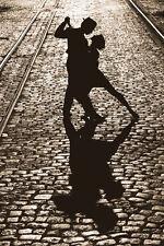 The last Dance Poster! Beauty Black & White Dorm Décor Silhouettes Tango New!
