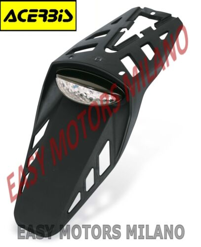 ACERBIS MOTO CROSS ENDURO MOTARD SUPERMORTARD NAKED PORTA TARGA LED CE
