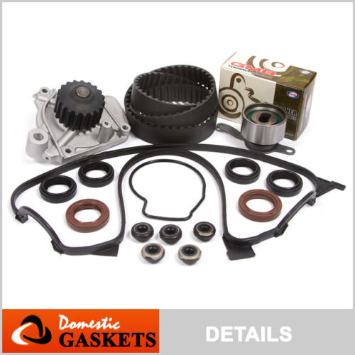 Fit 92-95 Honda Civic De Sol SOHC Timing Belt Water Pump Valve Cover Kit D16Z6