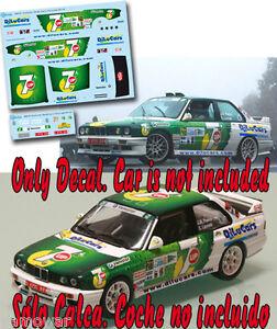 Decal-1-43-Jose-Maria-Ponce-BMW-M3-Rally-Islas-Canarias-El-Corte-Ingles-2013